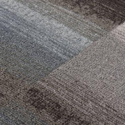 vidaXL Halkfri gångmatta svart 67x300 cm