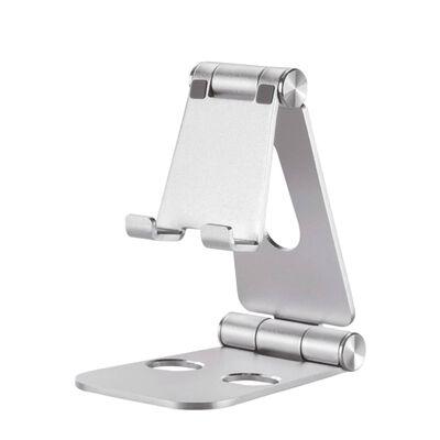 """NewStar Hopfällbart telefonställ 7"""" silver"""