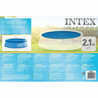 Intex Poolöverdrag solenergi runt 244 cm