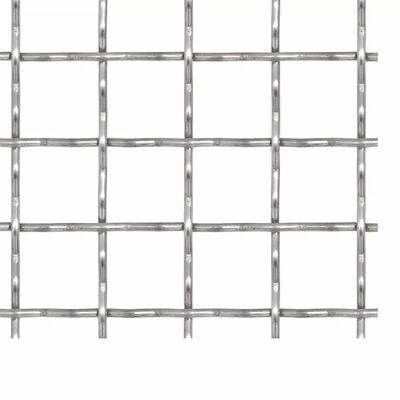 vidaXL Nätpanel rostfritt stål 100x85 cm 31x31x3 mm