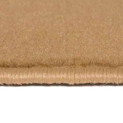 vidaXL Modern matta cirkeldesign 80x150 cm brun