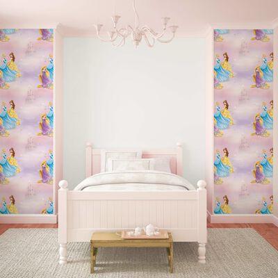 Kids at Home Tapet Pretty as A Princess rosa och blå