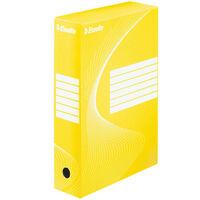 Esselte Dokumentbox 25 st gul 80 mm