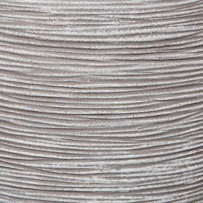 Capi Blomkruka Nature Rib fyrkantig 50x50 cm elfenben