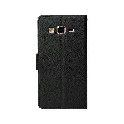 Mobilplånbok 2-kort Samsung Galaxy On7 (SM-G600F) Svart