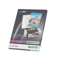 Leitz Lamineringsfickor ILAM 125 mikron A3 100-pack