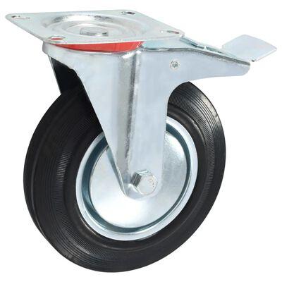 vidaXL Hjul 12 st 200 mm,