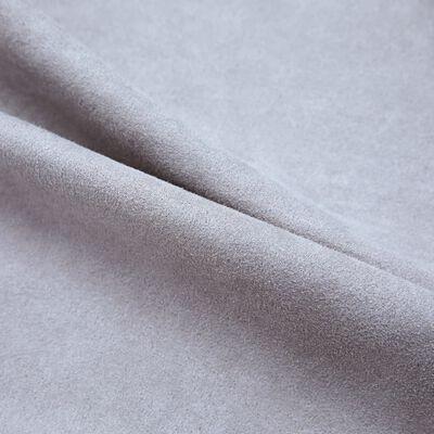 vidaXL Mörkläggningsgardiner med metallringar 2 st grå 140x175 cm