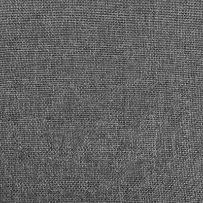 vidaXL Reclinerfåtölj med uppresningshjälp ljusgrå tyg