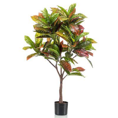 Emerald Konstväxt crotonträd i kruka 100 cm