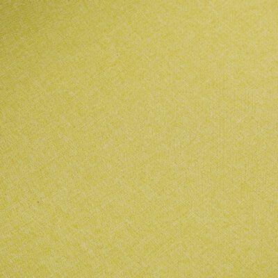 vidaXL Matstolar 4 st grön tyg och massiv ek