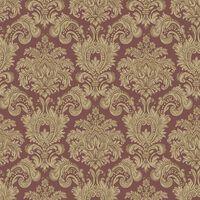 Noordwand Tapet Classic Ornaments vinröd