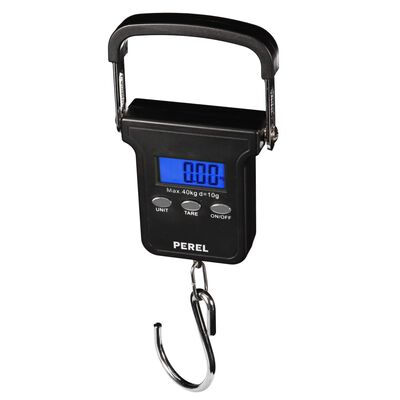 Perel Digital bagagevåg 40 kg svart