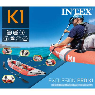 Intex Uppblåsbar kajak Excursion Pro K1 305x91x46 cm