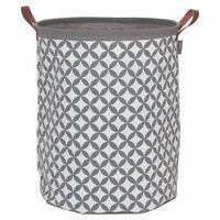Sealskin Tvättkorg Diamonds grå 60 L 362302012