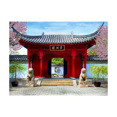 Fototapet - Chinese Botanical Garden Of Montreal  - 200x154 Cm