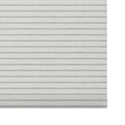 Decosol Rullgardin translucent vit med mönster 150x190 cm