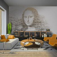Fototapet - Leonardo Da Vincis Dagbok - 300x231 Cm
