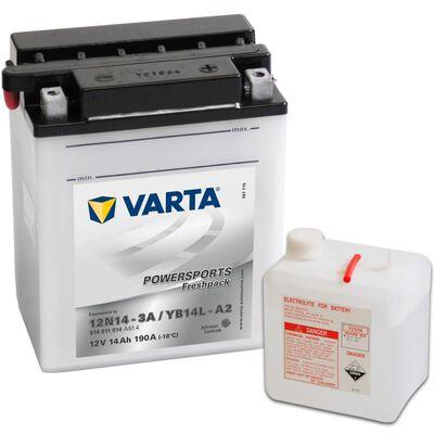 Varta Motorcykelbatteri Powersports Freshpack YB14L-A2
