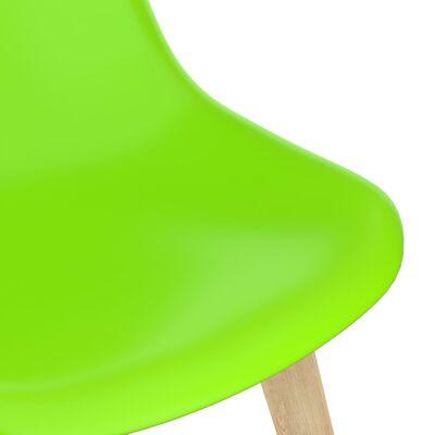 vidaXL Matgrupp 3 delar grön