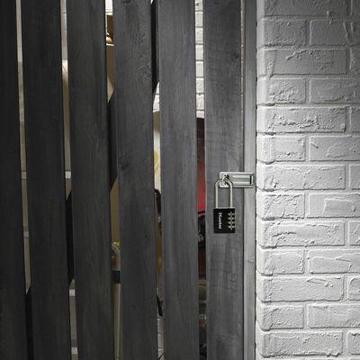 Master Lock Kombinationslås i aluminium svart 40 mm 7640EURDBLKLH