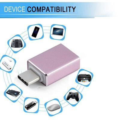 Adapter USB-C (hane) till USB 3.0 Rosa
