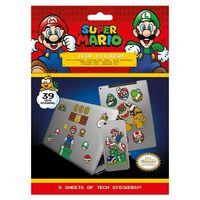 Super Mario - 39x Klistermärken