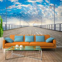 Fototapet - The  Pier - 350x245 Cm