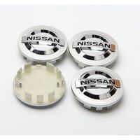 N3 - 54MM 4-pack Centrumkåpor Nissan