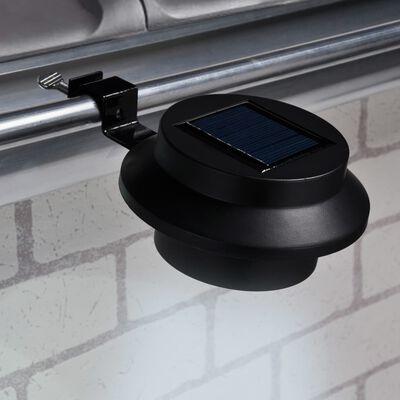 HI Soldriven LED-lampa för hängränna 2 st