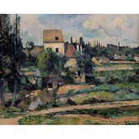 Le Moulin sur la Couleuvre a Pontoise,Paul Cezanne,50x40cm