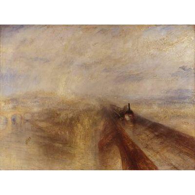 Rain,Steam and Speed,Joseph Mallord William Turner,50x40cm