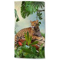 Good Morning Badlakan JUNGLE 100x180 cm flerfärgat