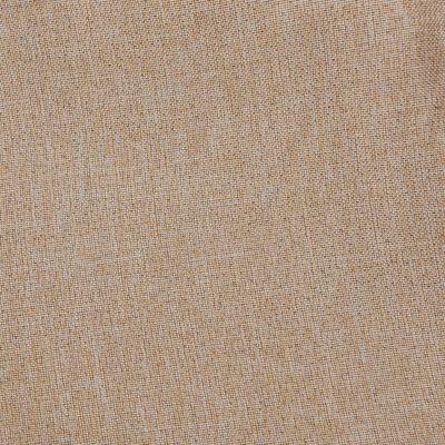 vidaXL Mörkläggningsgardin med öljetter linnelook 2 st beige 140x225cm