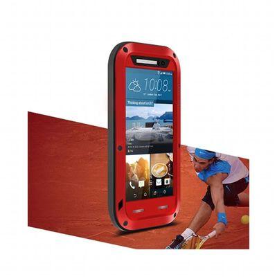 LOVE MEI Powerful HTC ONE M9 Röd