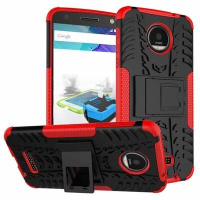 Stöttåligt skal med ställ Motorola Moto Z (XT1650) Röd,