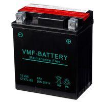 VMF Powersport Liquifix Batteri 12 V 6 Ah MF YTX7L-BS