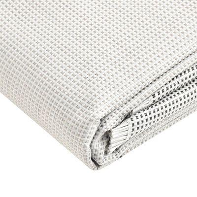 vidaXL Tältmatta 650x300 cm grå