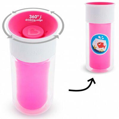 Munchkin Isolerad kopp personlig Miracle 360° rosa