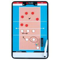Pure2Improve Dubbelsidig taktikplatta volleyboll 35x22 cm P2I100690