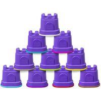 Kinetic Sand Slottsformer 10-pack