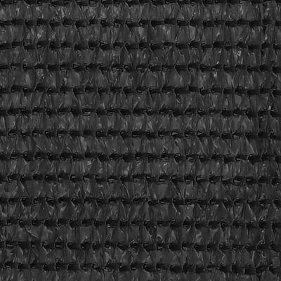 vidaXL Balkongskärm HDPE 120x500 cm antracit, Anthracite
