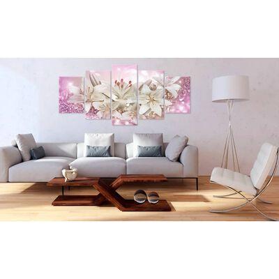 Tavla - Pink Courtship - 100x50 Cm