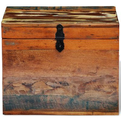 vidaXL Förvaringslåda återvunnet trä