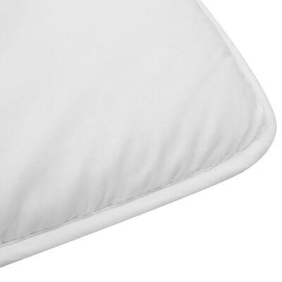 vidaXL Bäddset vinter 2-delat för barn vit 100x135 cm/40x60 cm