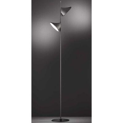 Wofi Golvlampa LED Chara svart
