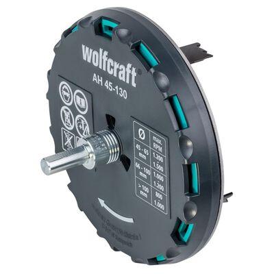 wolfcraft Justerbar hålsåg AH 45-130 30 mm metall 5978000