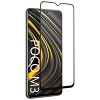 Xiaomi Poco M3 FullFrame® 0.26mm 2.5D 9H Härdat Glas