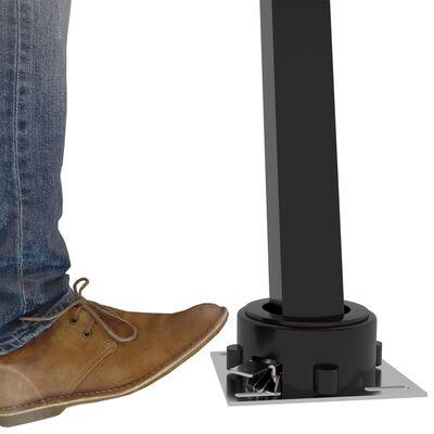 vidaXL Automatisk markis med vindsensor & LED 450x300 cm gräddvit