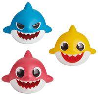 Baby Shark - 3x Badleksaker